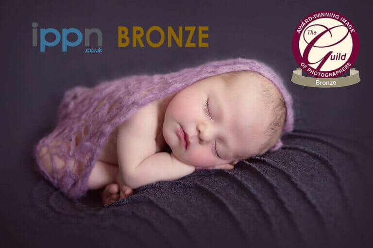 Award winning picture of newborn