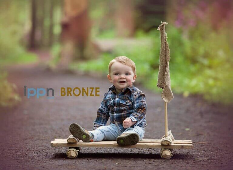Award winning photograph of toddler